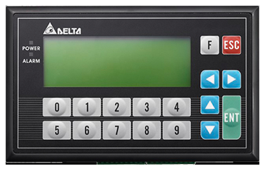 TP04G-BL-C – LCD de 4.1'' com 4 segmentos e 2 COM e teclas com funções (0 a 9) definidas pelo usuário.